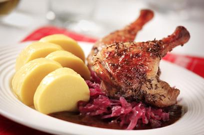 Kachna se zelím - Restaurace, Penzion U Slunce
